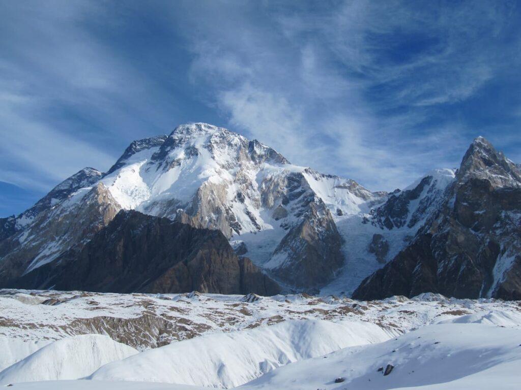 BROAD PEAK 8051 m on Gasherbrum massif