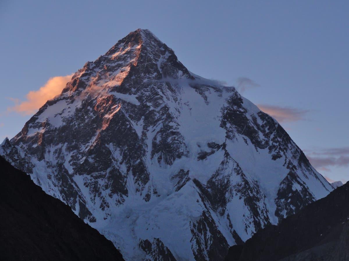 K2 view points Highest Peaks Sunset on K2