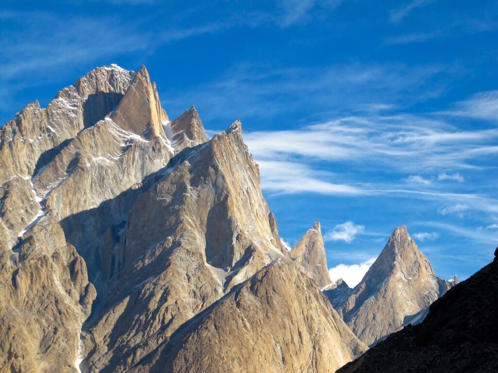 12 Great Trango Peaks from Khoburtse 4th stage 1280x960