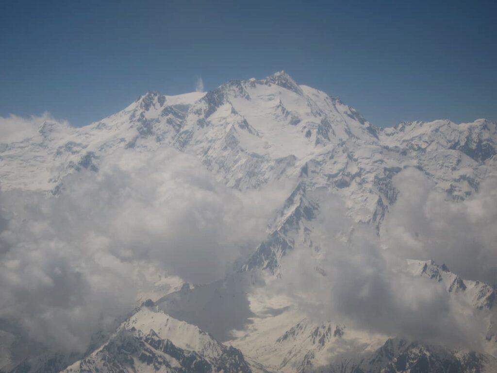 Nanga Parbat From An Airplane 1280x90